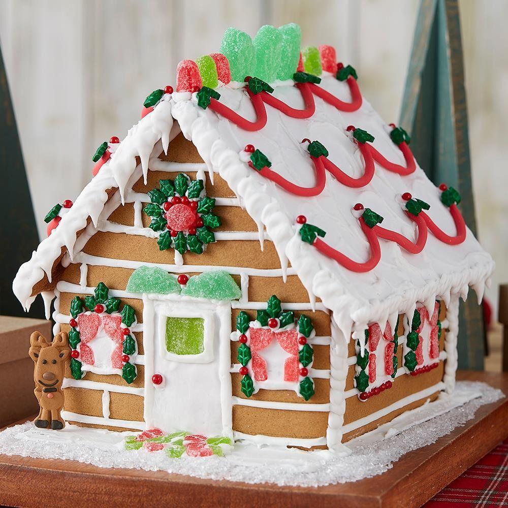 「アレンジ編★お菓子の家をデコレーションしてみましょう!」の写真