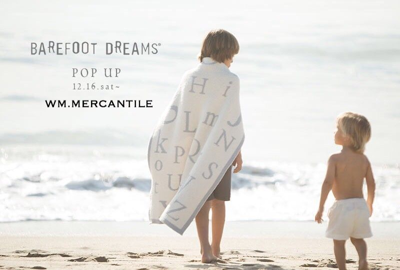 Information on an POP UP EVENT。。 BAREFOOT DREAMSの写真