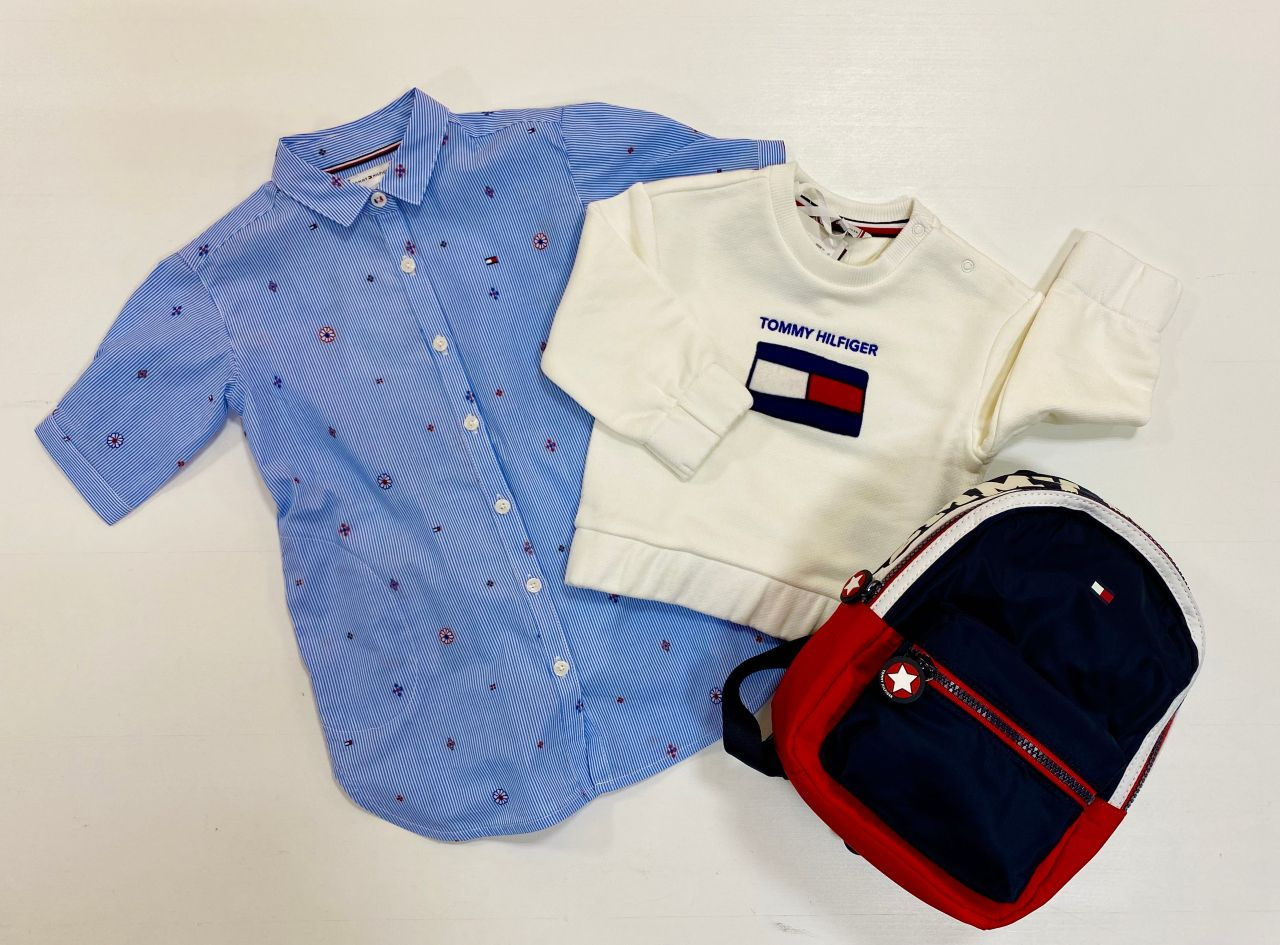 Tommy Hilfiger Baby Girls Solid Wide Rib Vest