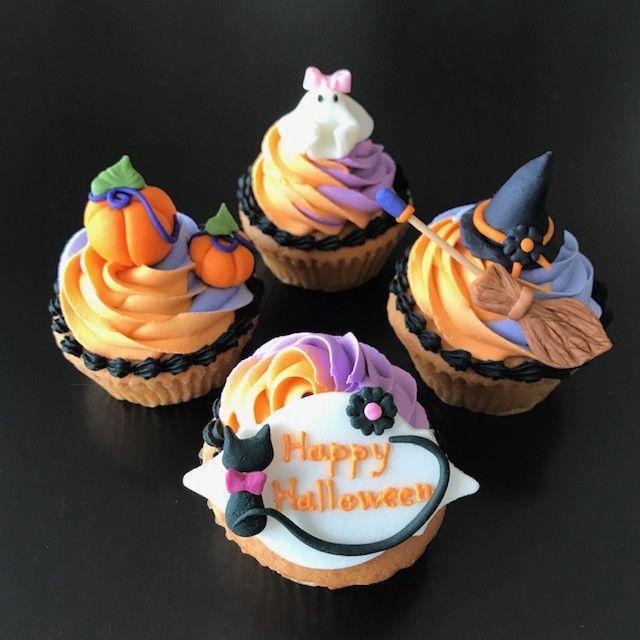 「10月ハッピーハロウィンカップケーキレッスンのご案内」の写真