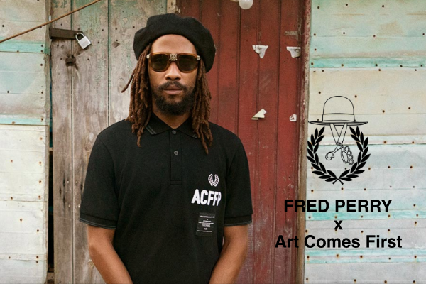 "FRED PERRY x Art Comes First  ""Embroidered FRED PERRY Shirt""の写真"