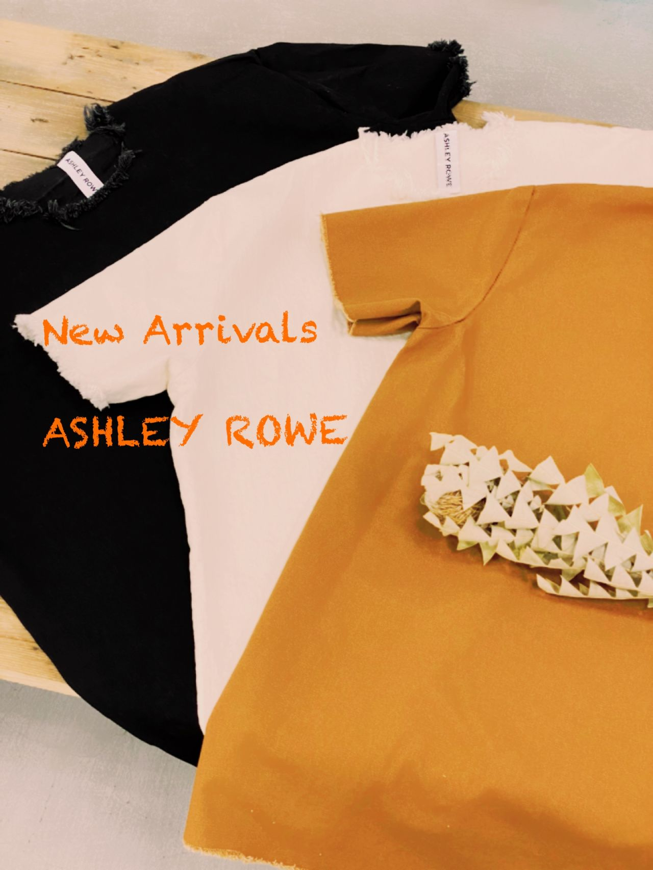ASHLEY ROWE New Arrivals !!!の写真