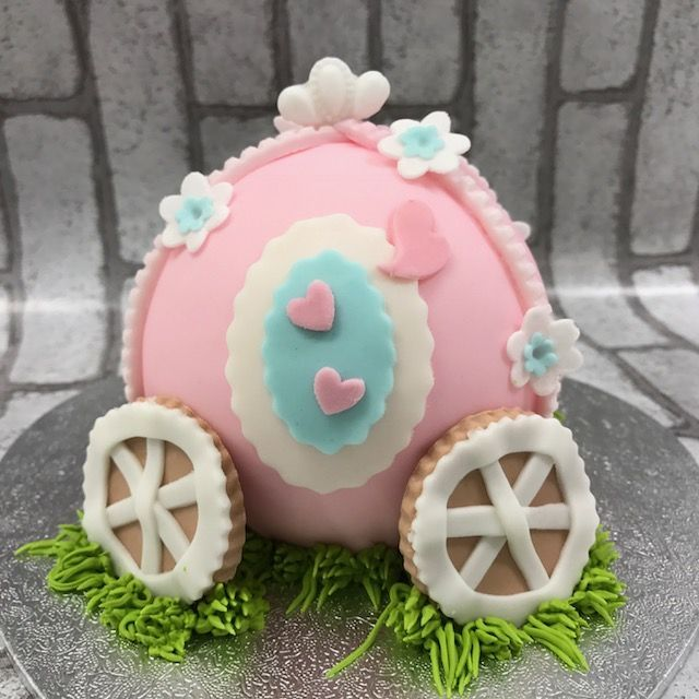 「11月『3Dプリンセスの馬車』ケーキレッスン」の写真