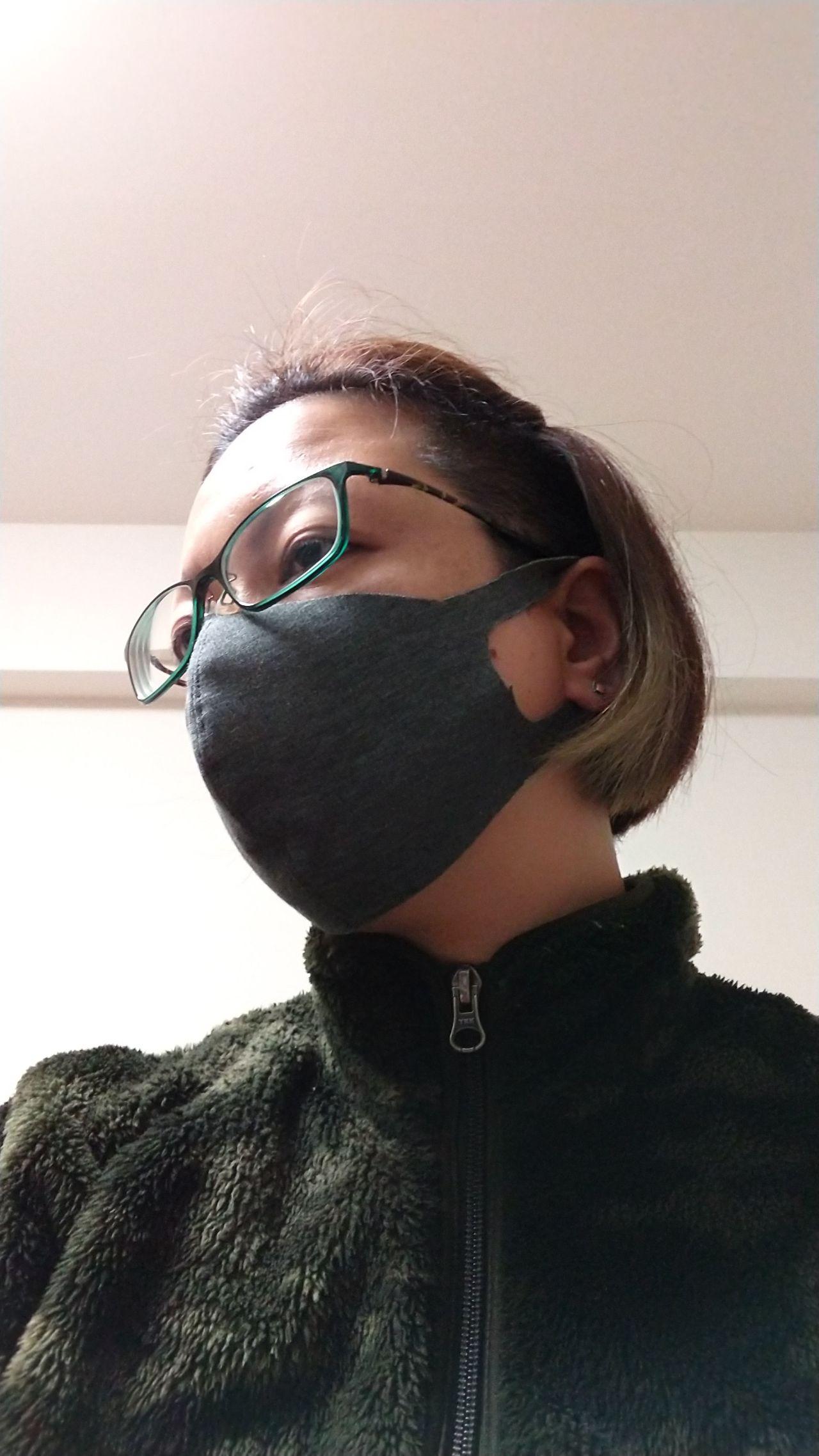 マスク ニット 生地