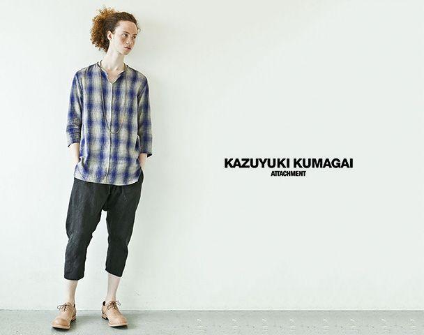 KAZUYUKI KUMAGAI ATTACHMENT / 新着アイテム入荷