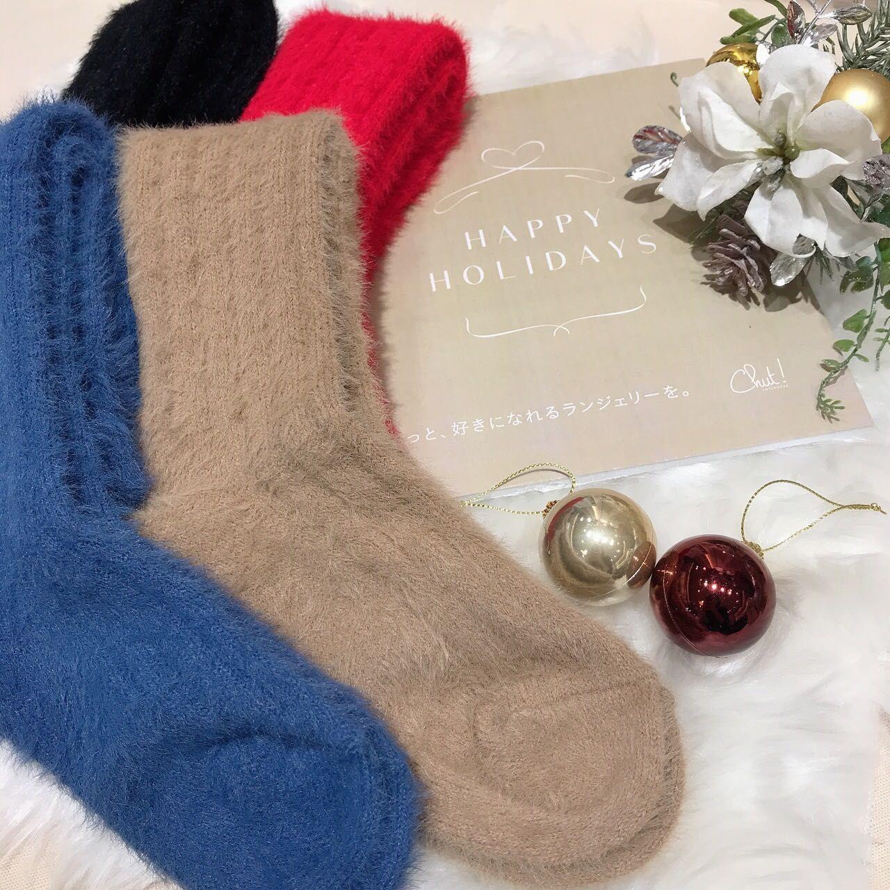 Chut!からオリジナル靴下プレゼント☆【イオンモール岡山店】の写真