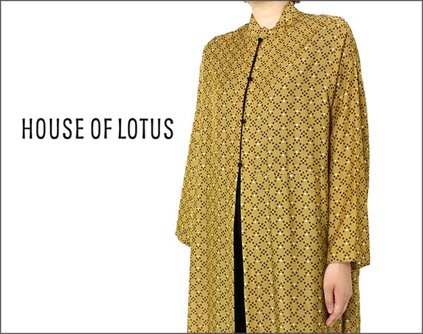 HOUSE OF LOTUS / 2017AW新入荷