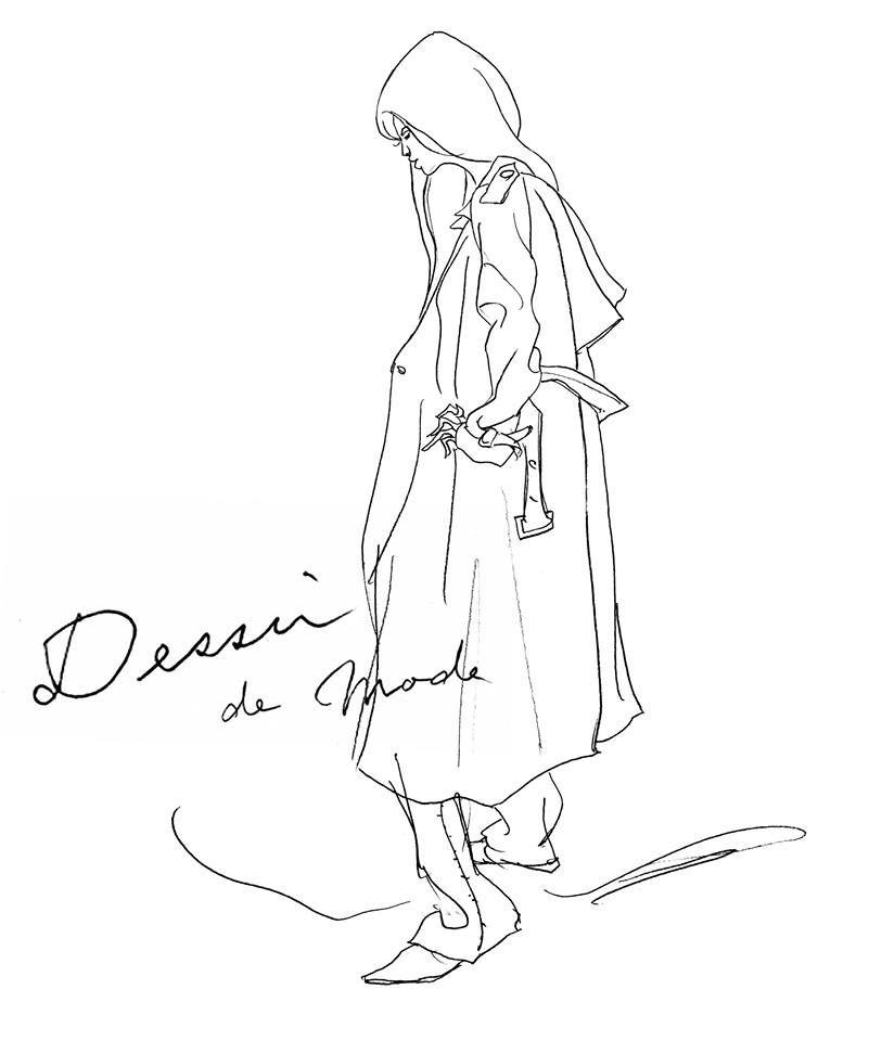 new collection...Dessin de modeの写真