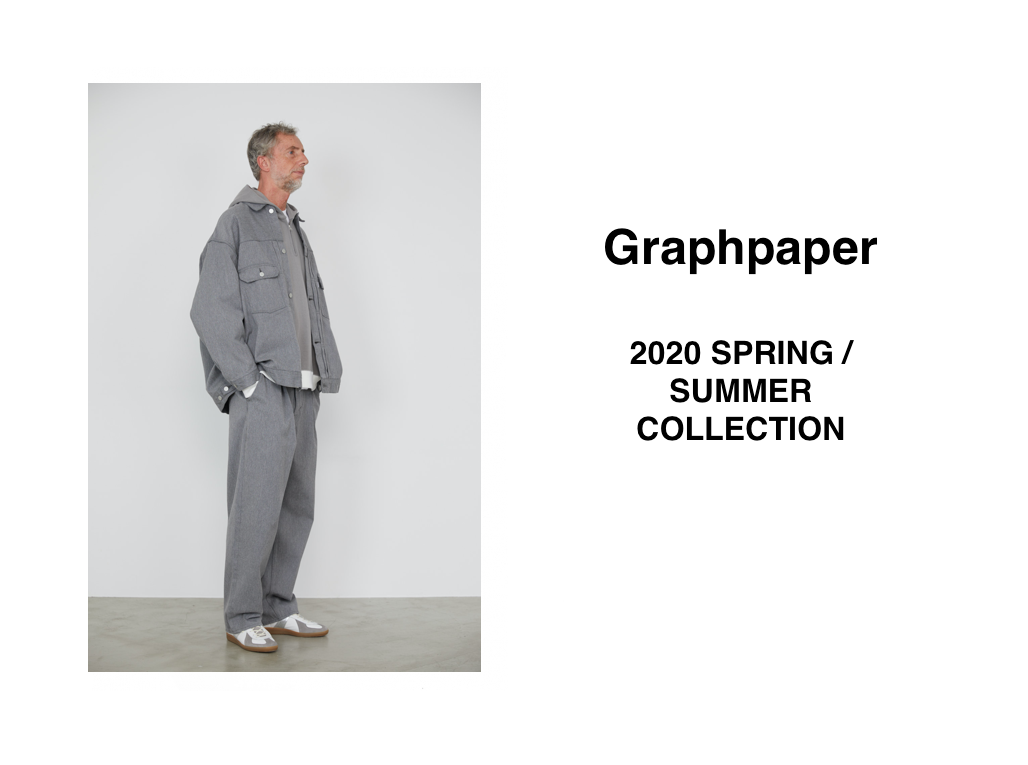 Graphpaper 2020SPRING/SUMMER COLLECTIONの写真