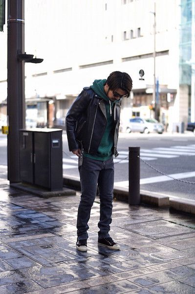 【 The Letters 】/ Motorcycle Cow Hide Jacket.の写真