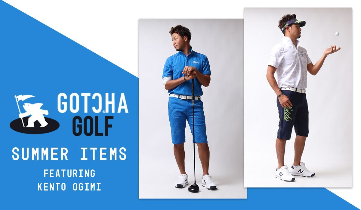 GOTCHAGOLF SUMMER ITEMS featuring Kento Ogimi