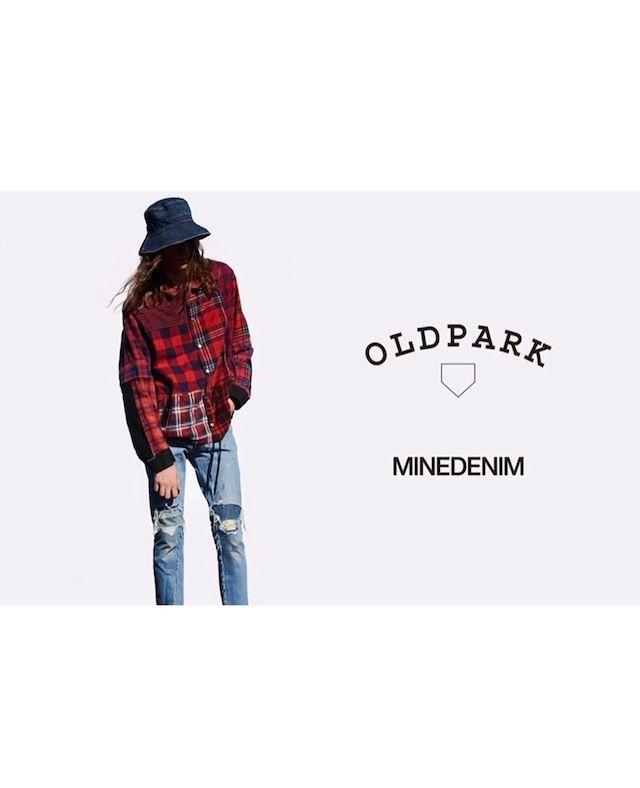 OLDPARK × MINEDENIMの写真