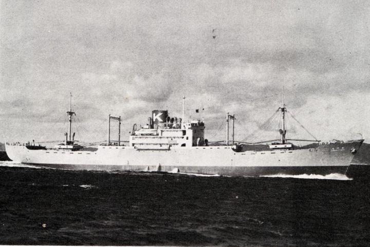 貨物船の写真