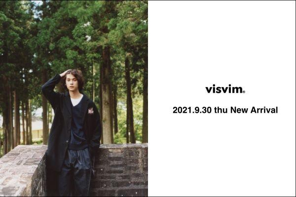 visvim 2021.9.30 thu  New Arrivalの写真
