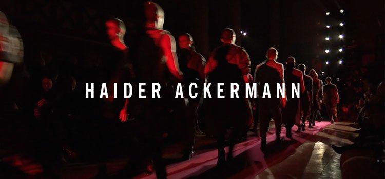 HAIDER ACKERMANNの写真