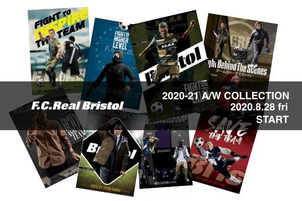 F.C.Real Bristol  2020-21 A/W COLLECTIONの写真