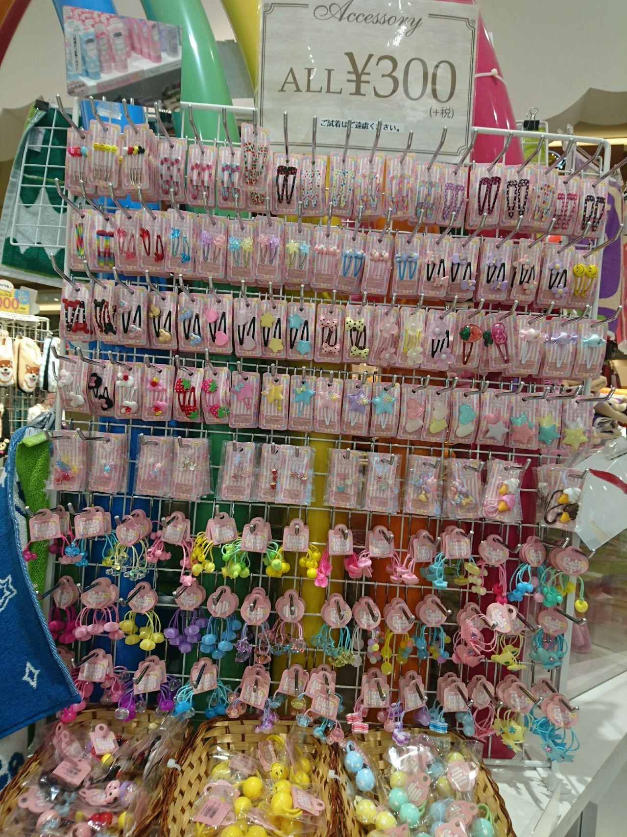 「¥300アクセサリー新商品入荷♡」の写真