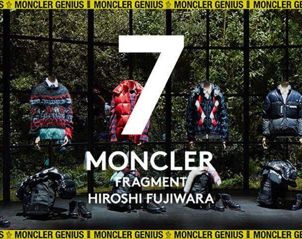 MONCLER GENIUS / 7 Moncler Fragment Hiroshi Fujiwara 2nd  Dropの写真