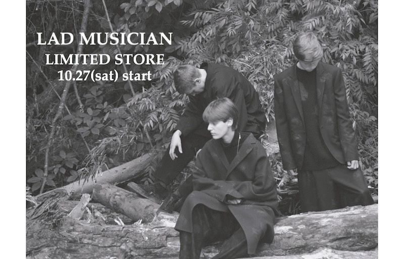 【 LAD MUSICIAN LIMITED STORE 】re-stockの写真