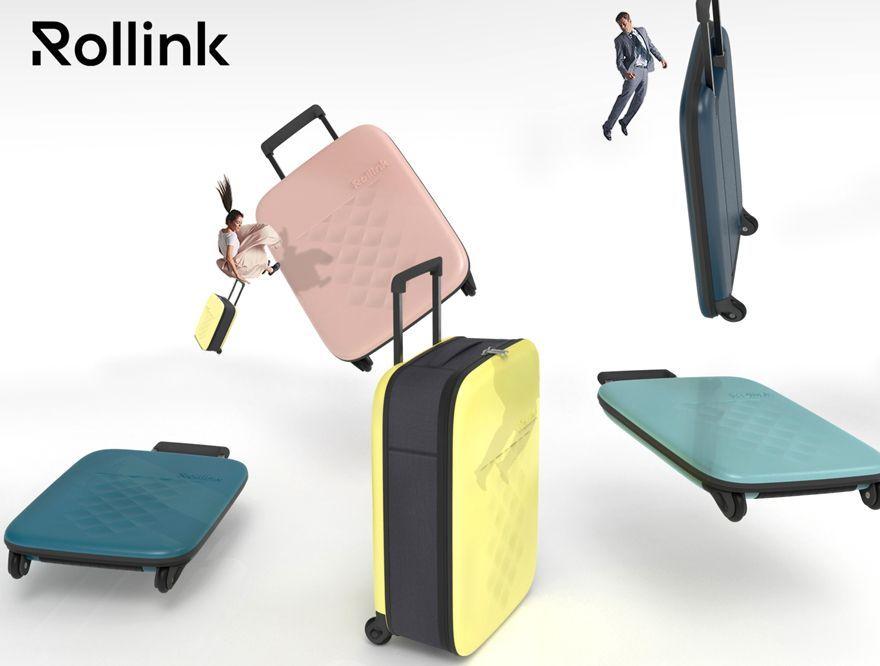 「【予約特典 】折りたためるスーツケースが日本初上陸!先行予約販売開始!!」の写真