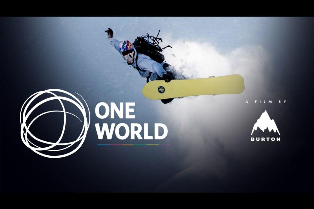 BURTONが8年ぶりのムービー「ONE WORLD」を公開
