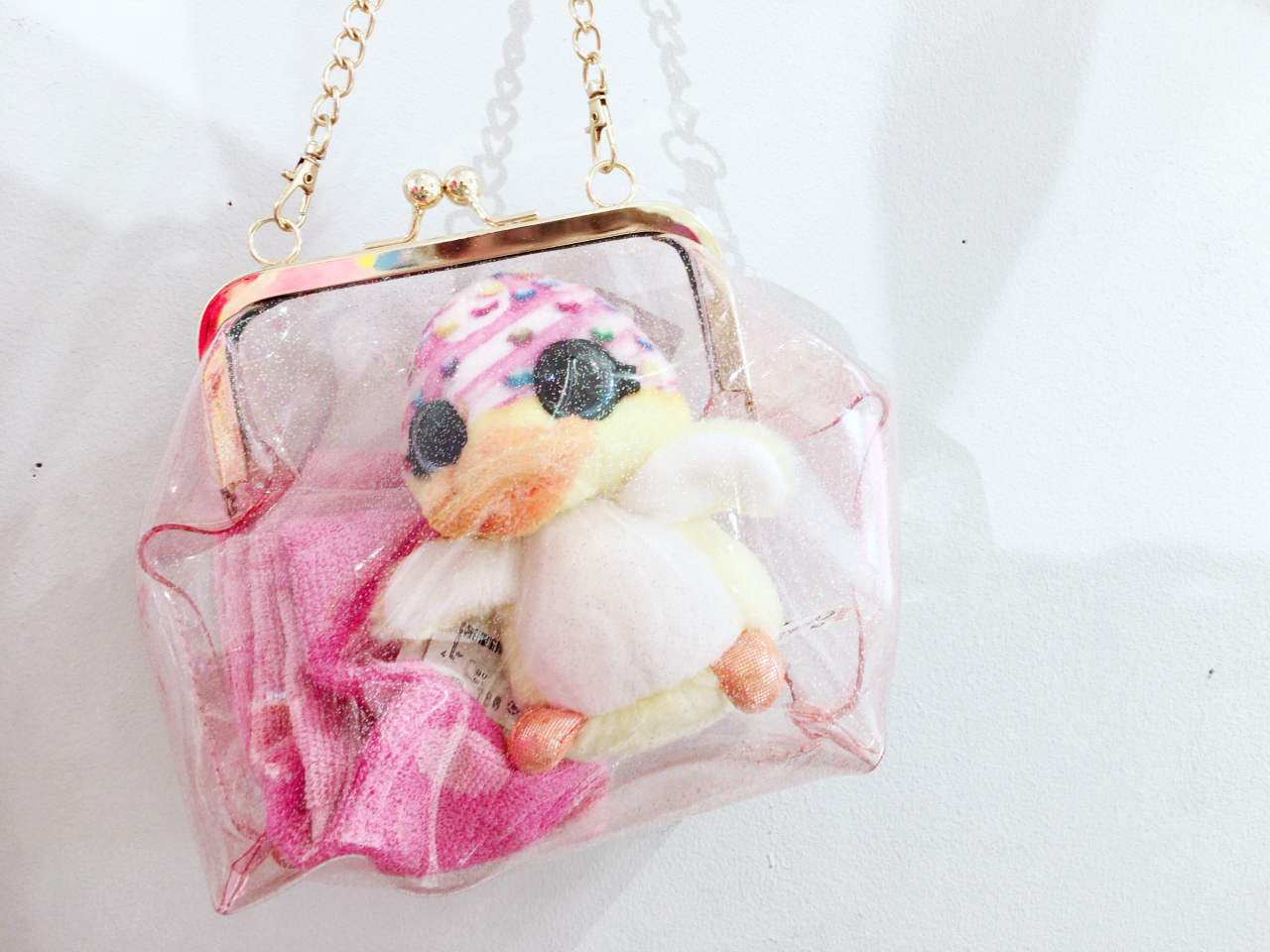 「インスタ映え♡クリアバッグ」の写真
