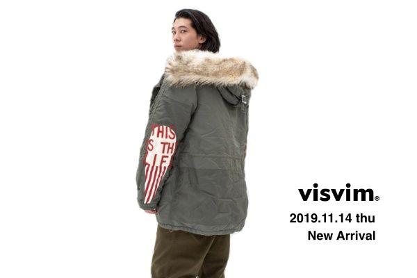 visvim  2019.11.14  thu New Arrivalの写真