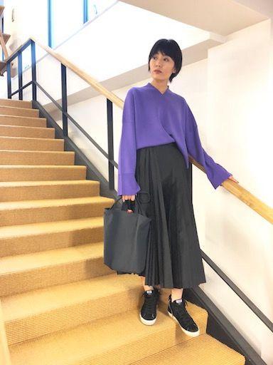 pleats & purpleの写真