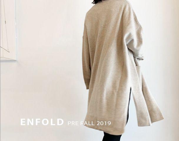 ENFOLD PRE FALL 2019 新作アイテム入荷の写真