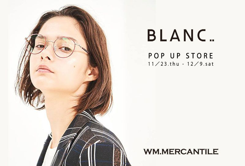 Happy Happy Campaign  &  BLANC POP UP STOREの写真
