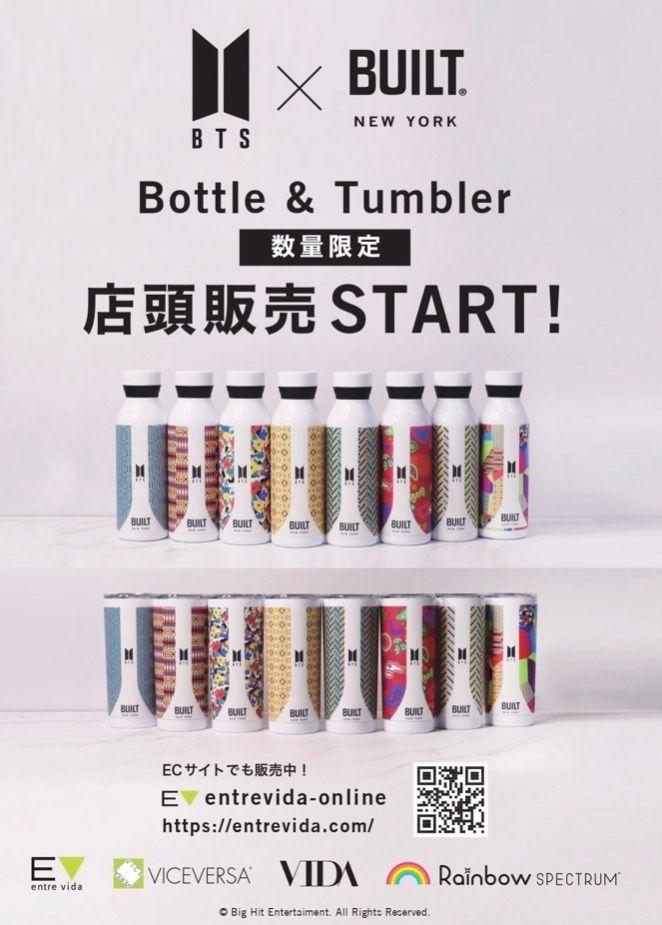 「【販売開始】BUILT×BTSコラボ商品 店頭にて販売中!」の写真