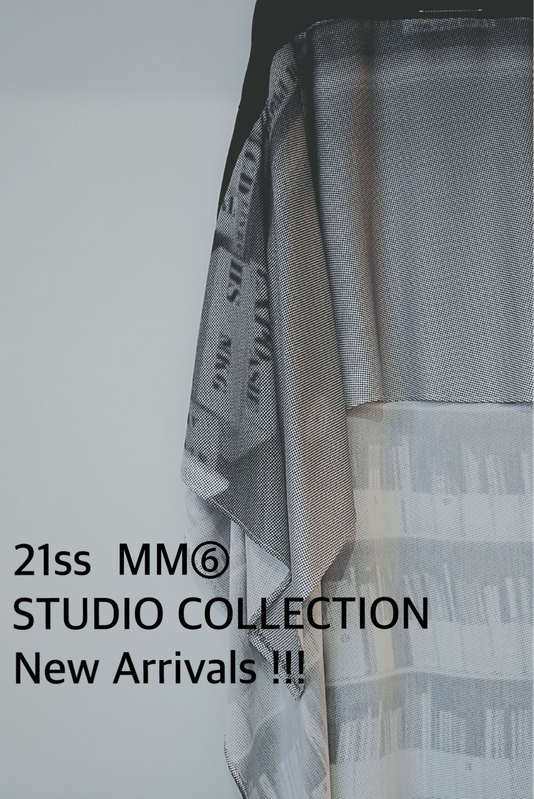 MM⑥ STUDIO COLLECTION 21SSの写真