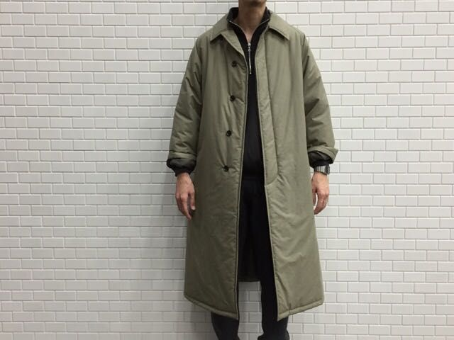 GraphpaperのPadding  Bal Collar Coat。の写真
