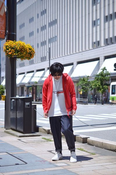 【 TAKAHIROMIYASHITA The Soloist. 】/ full zip hoody w/ zip pockets. : Stylingの写真