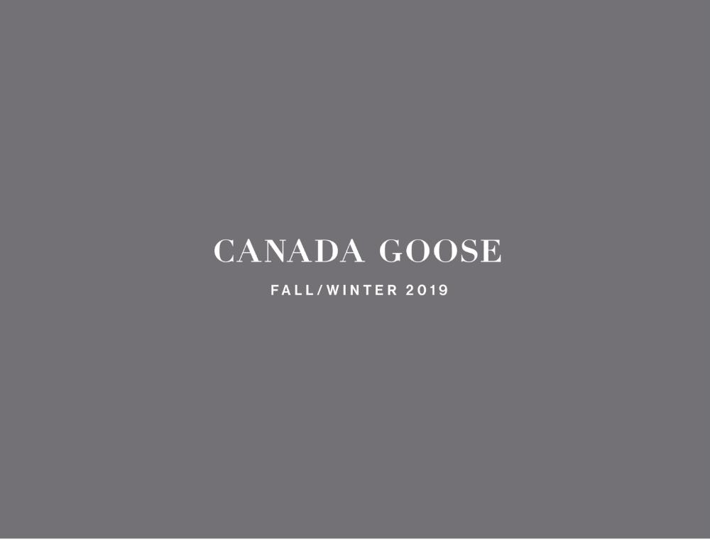 CANADA GOOSE FALL/WINTER 2019の写真