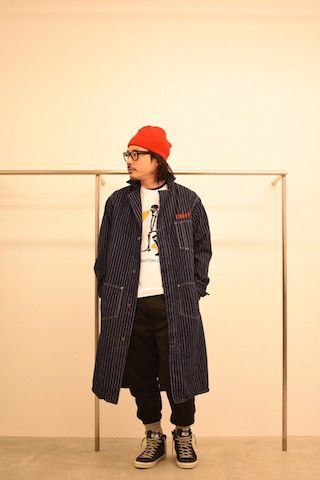 HUMAN MADE 【 CURRY UP SHOP COAT 】 Stylingの写真