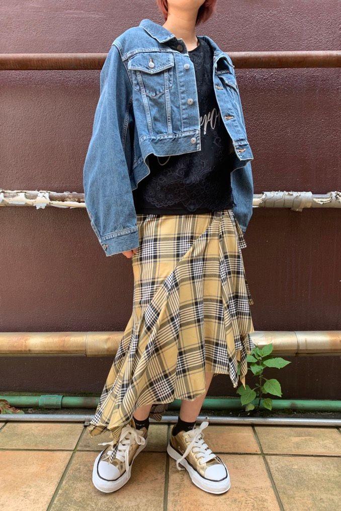 Denim・Lace・Check.の写真