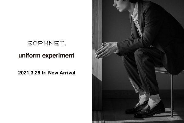 SOPHNET. , uniform experiment 2021.3.26 fri New Arrivalの写真