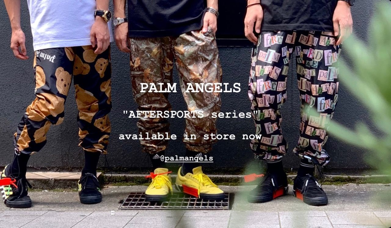 PALM ANGELS 2019AW COLLECTION AFTERSPORTS Seriesの写真