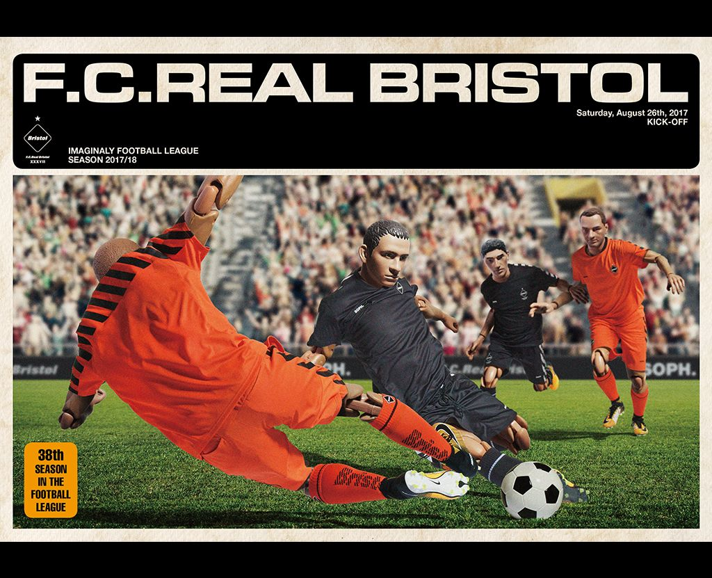 F.C.Real Bristol 2017 A/W Collectionの写真