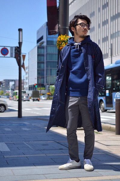 【 HUMAN MADE 】/ CURRY UP SHOP COAT : Stylingの写真