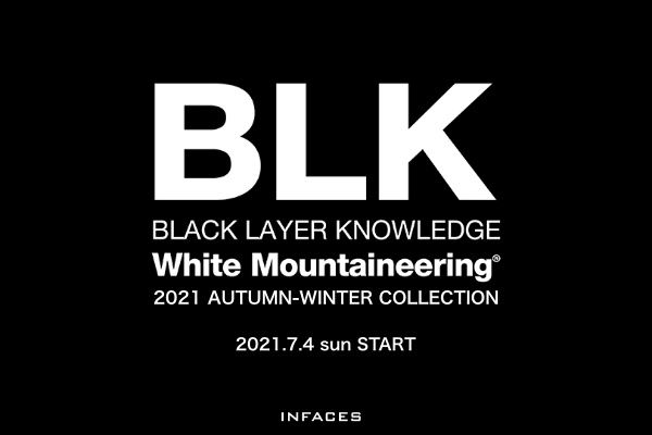White Mountaineering BLK 21AW COLLECTIONの写真