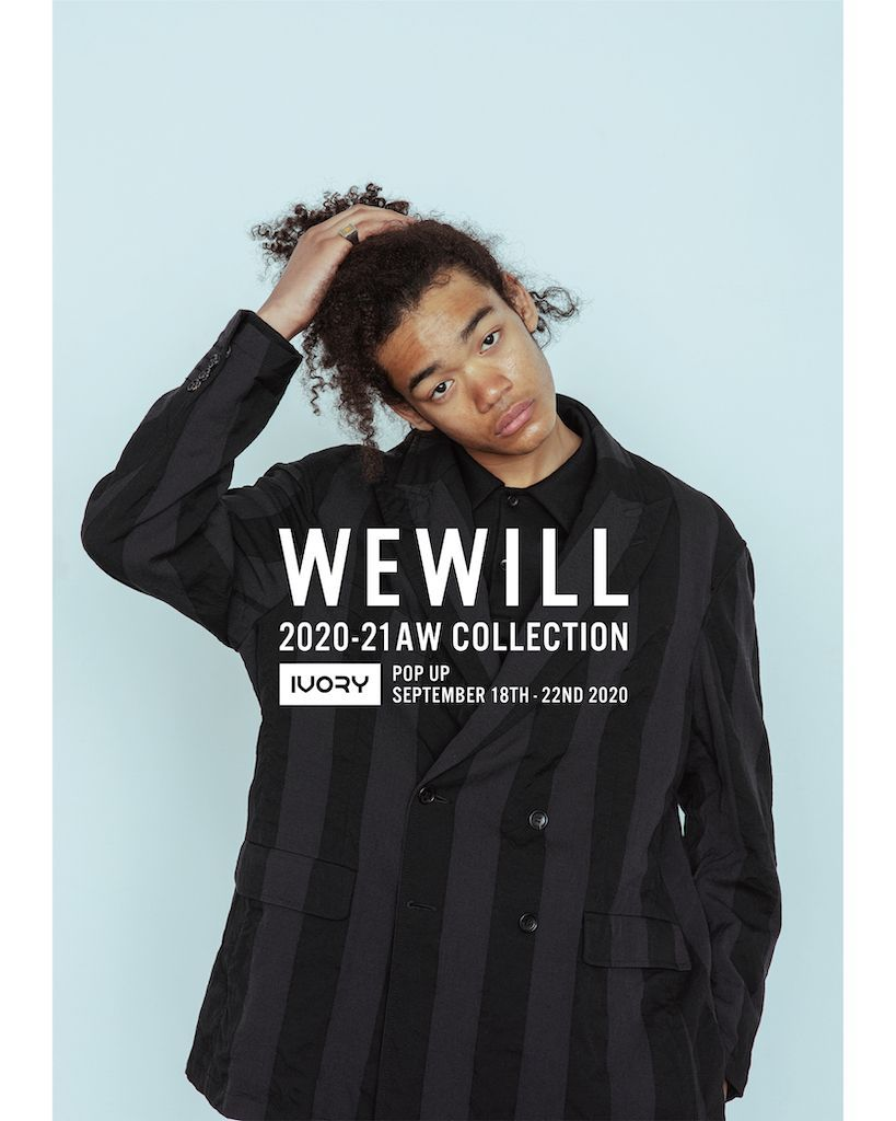 WEWILL POP UP STORE @IVORYの写真