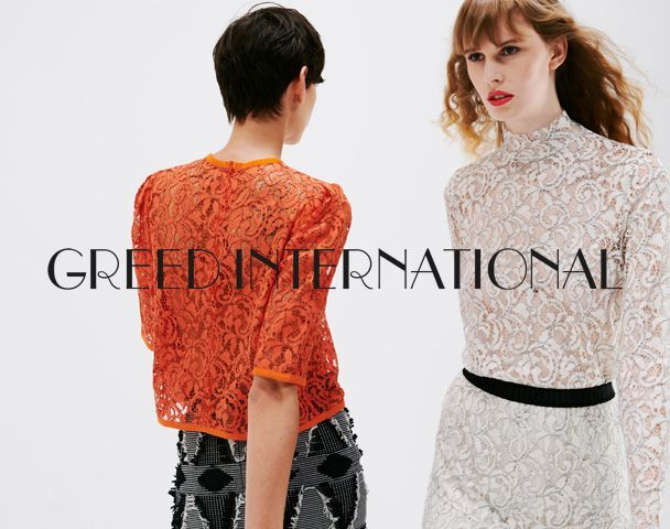 GREED INTERNATIONAL  / 2018 AW Collection START!!