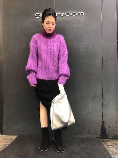 leading knitの写真