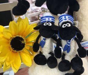 「横浜店舗限定!ひつじのショーンのキーリングが発売しました!!」の写真