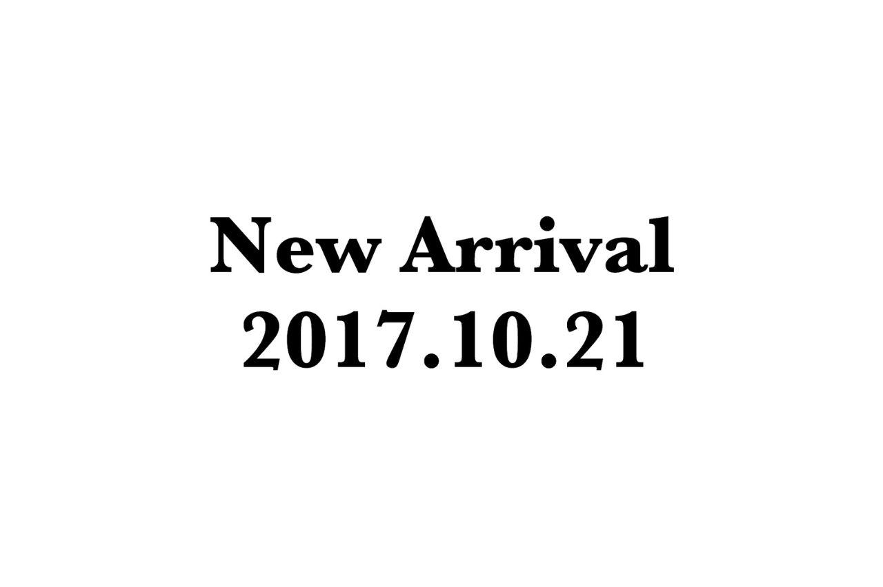 【 New Arrival 】 10.21の写真