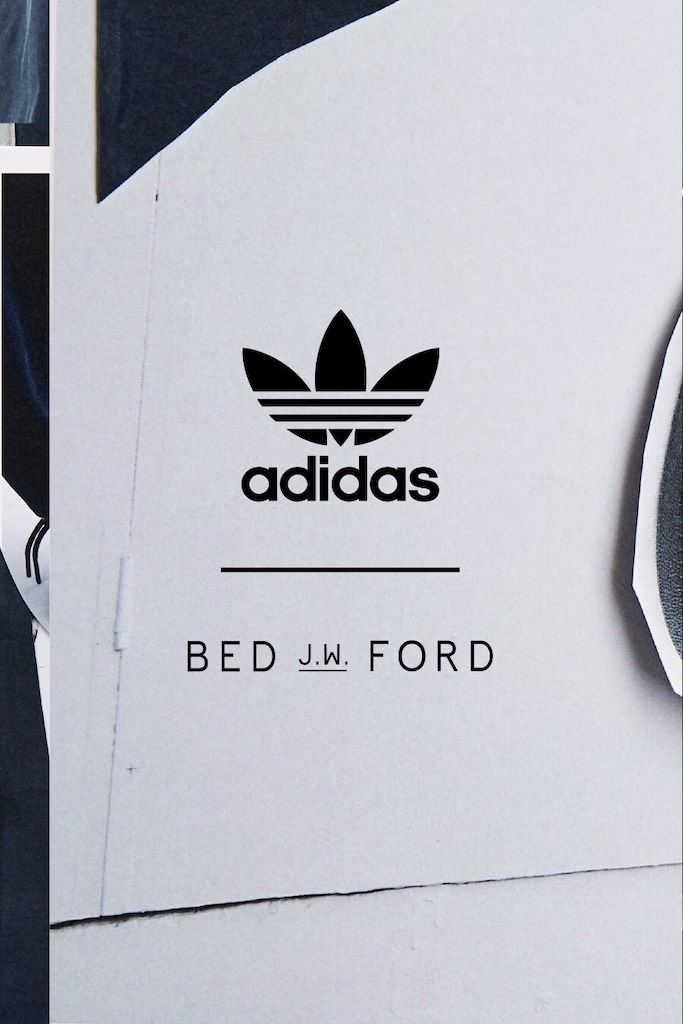 BED j.w. FORD × adidas Collection 9/20 startの写真