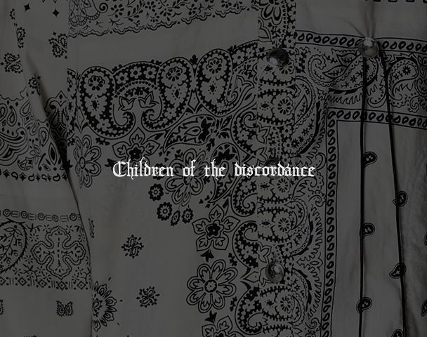 Children of the discordance / 新作アイテム入荷