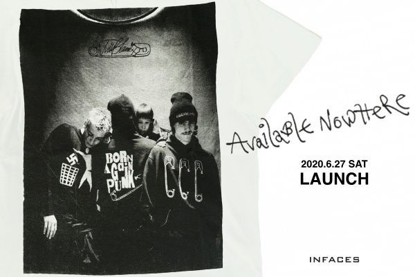 AVAILABLE NOWHERE  2020AW LAUNCHの写真